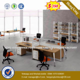 현대 사무실 책상 L 모양 워크 스테이션 사무실 분할 (HX-8N3038)