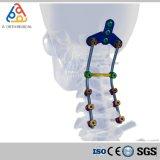 Ángulo de polarización Polyaxial cervicales posteriores el tornillo de fijación quirúrgica (sistema de implante de titanio)
