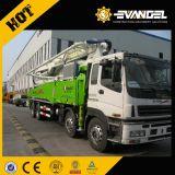 24m 트럭에 의하여 거치되는 구체 펌프 (HOWO)