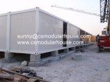 Prefabricados personalizados Flat Pack contenedor Casa Modular con bastidor de acero de la luz