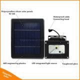 3W PFEILER LED Landschaftsscheinwerfer-Sonnenenergie-Flut-Nachtlicht