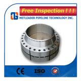 La norme ASTM A105 de la soudure en acier au carbone de bride du tuyau goulotte