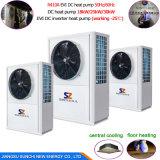 pompe à chaleur air-eau de chaufferette de 12kw 19kw 35kw 70kw