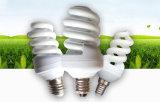 24W PC espiral metade CFL lâmpada economizadora de energia