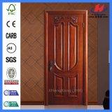 Нутряными дверь белого дуба оборудования двойной двери высеканная дверями деревянная