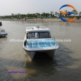 25 passagiers 10.8 Meters van de Boot China van de Catamaran FRP