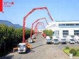 中国のトラックによって取付けられるポンプ25m-35mからの具体的なブームポンプ
