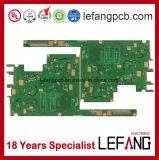 O computador industrial parte o cartão-matriz da placa de circuito do PWB