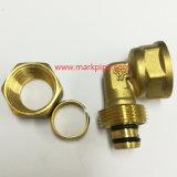 圧縮の黄銅の付属品