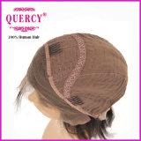 Quercy 최신 판매 100% 인간적인 브라질 Virgin Remy 직모 정면 레이스 가발 가득 차있는 레이스 가발 (FW 042b)