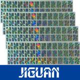 De waterdichte Weerspiegelende Stickers van het Hologram van de Veiligheid van de Douane van de Sticker 3D