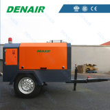 산업 디젤 엔진 - 몬 휴대용 움직일 수 있는 회전하는 나사 공기 압축기