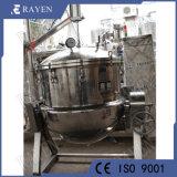L'inclinaison en acier inoxydable isolant chemisé pour bouilloire bouilloire de cuisson vapeur