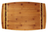 Bamboe die Boad met Textuur snijden