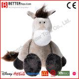 Fr71 caresser jouet en peluche doux animal en peluche cheval pour les enfants/enfants