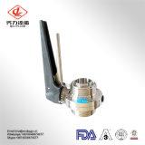 SS304/316Lの品質保証のステンレス鋼の衛生蝶