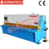 QC12y 4X2500 Máquina de esquila de la hoja de metal hidráulico