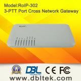 無線十字ネットワークSIP VoIPゲートウェイ(RoIP-302M)