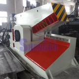 Vergalhão automática hidráulica de cisalhamento de Corte (fábrica)