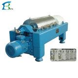 水平のタイプ螺線形の遠心機械のための産業沈積物の排水機械