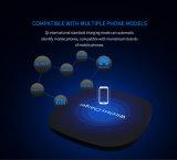 Luftmacht-schnelle drahtlose Aufladeeinheittischplattenqi-Telefon-Aufladeeinheit für iPhone X Airpods