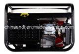 Pression de 5000W à deux générateurs de moteur à essence