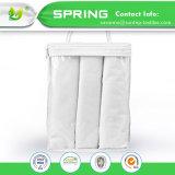 Chemises de coussinet de remplacement de bambou bébé hypoallergénique 24 X 12,5 3 Pack