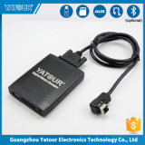 La musique numérique MP3 Adaptateur avec chargeur de voiture USB prise en charge du pilote USB à mémoire Flash