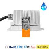 IP65 Die-Cast алюминиевый провод Водонепроницаемый светодиодный индикатор початков затенения