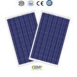 de red y en el panel solar aplicado de Cemp 270W de la planta solar del picovoltio de la red