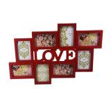 Het rode Frame van de Inzameling van de Liefde voor de Decoratie van de Muur