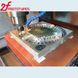 Pezzi meccanici lavorati precisione di CNC del metallo di Al