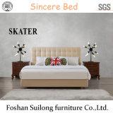 현대 작풍 디자인 미국식 직물 침대 가죽 침대 침실 침대