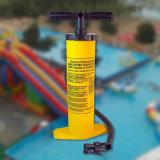 2機能の黄色いカラー空気Inflaterのハンドポンプ(膨脹するか、または空気を抜かれる)