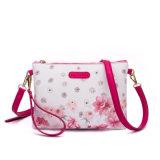 Sacchetto di spalla di cuoio del sacchetto della signora frizione dell'unità di elaborazione di stampa del fiore di modo