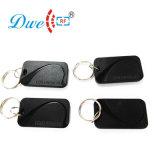 125kHz em4100 o 13.56MHz RFID Negro Mf Llavero Lector de tarjetas de etiqueta para el Control de acceso