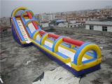 プールが付いている膨脹可能な水スライド公園