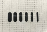 Papel para transferência de calor de tinta refletora