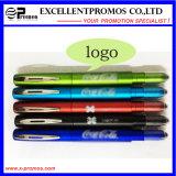 Стилус 2017нажмите индикатор пера с рекламными загорается логотип перо (EP-P8288)