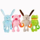 견면 벨벳 TPR를 가진 장난감에 의하여 채워지는 제품 개 공급 애완 동물 장난감