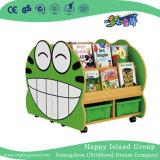 Школа лягушка моделирования детей деревянные книг полки (HG-6009)