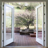 Prueba de sonido de la puerta de cristal térmico de seguridad de la puerta de Casement francés