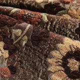 Цветовых дешевые жаккард ткань Chenille крышки