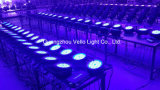Vello LED紫外線カラー同価はライト(LEDのエルフColorPar54)を上演できる