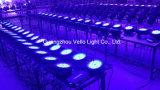 Van de LEIDENE van Vello PARI kan het UVKleur van de Was Licht (HOOFDElf ColorPar54) opvoeren