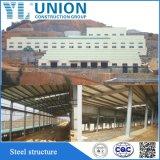 Estrutura de aço pintada Pre-Engineered edifício/Quadro de aço para fabricação de aço