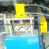 Rolo do Guardrail da estrada do fornecedor de Shanghai que dá forma à máquina com furos de perfuração