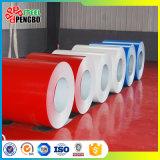 PPGI bobinas, revestido de Color, bobinas de acero prebarnizado blanco RAL9002. Edificio Materisl