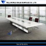 بيضاء رخاميّة قاعة اجتماعات طاولة مؤتمر مكاسب لأنّ 10 مقعد