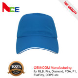 Casquette de baseball respirable de type de maille de Dryfit de mode de fabrication d'OEM